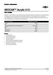 NEOCAR™ Acrylic 6430 - Mielco