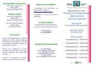 Procedura di radioprotezione degli operatori: istruzioni operative