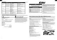 Power 52 Brushless Outrunner Motor, 590Kv (EFLM4052A ...