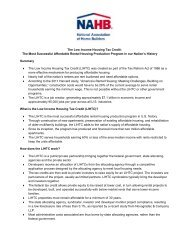Benefits of the Low Income Housing Tax Credit - National ...