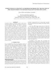 Computationally Efficient Algorithms for Predicting ... - Steven Pigeon