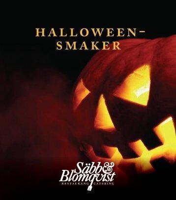 halloween- smaker - Säbb & Blomqvist Catering