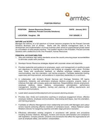 National, Precast Concrete Solutions - Armtec
