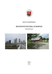 (2013). Regioninė politika Europoje, Mokomoji priemonė. Vilnius