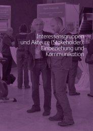 Interessensgruppen und Akteure (Stakeholder ... - Biodiversity Skills