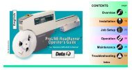 Siemens SIPLACE X-Series Operator's Guide - Data I/O Corporation