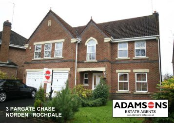 3 PARGATE CHASE NORDEN ROCHDALE - Oldham Chronicle