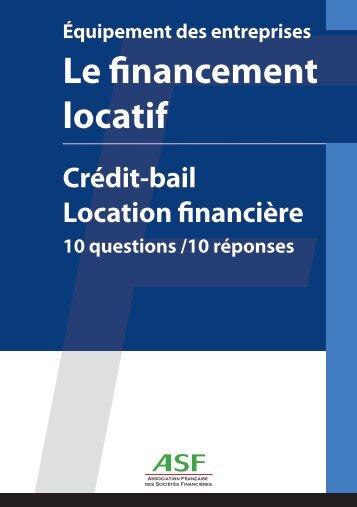 Equipement des entreprises - Le financement locatif ... - Natixis Lease