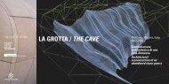 LA GROTTA / THE CAVE - Pongratz - Perbellini Architects