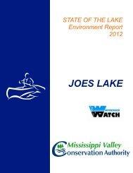 JOES LAKE - Mississippi Valley Conservation