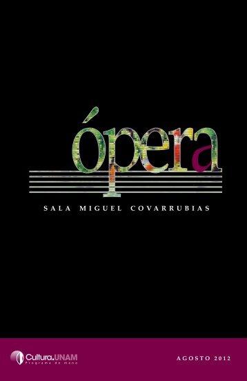 Óperas de Walton, Weill y Milhaud - Música UNAM
