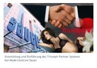 Sauer Modehandels GmbH & Triumph International AG