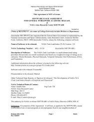 Software Usage Agreement for General Worldwide Academic Release
