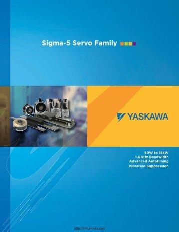 Yaskawa Sigma Brochure - Northern Industrial