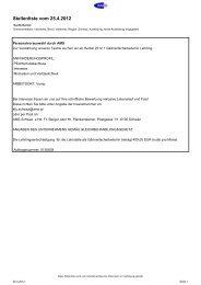 AMS-Lehrstellenliste - Polytechnische Schule Mayrhofen