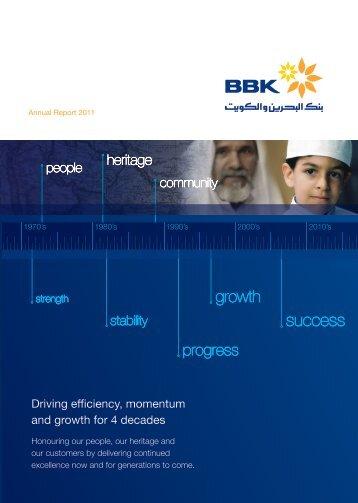 BBK Annual Report 2011