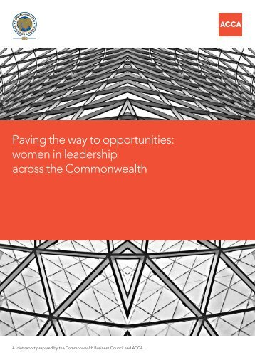 Paving the way to opportunities: women in leadership ... - ACCA