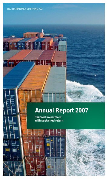 Annual Report 2007 - hci hammonia shipping ag