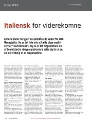 Italiensk for viderekomne - Soundcheck