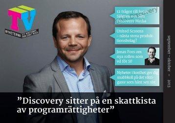 Tv-Nyheternas fördjupande PDF-tidning september-oktober 2013
