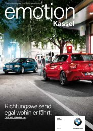 BMW niederlassung Kassel - publishing-group.de