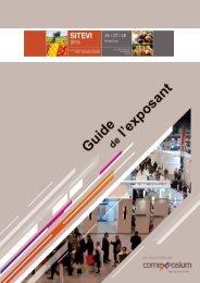 Téléchargez votre guide de l'exposant - Espace Exposant - SITEVI