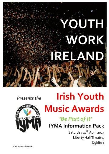 Youth Work Ireland present The Irish Youth Music Awards (IYMA)