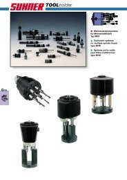 porte-outils divers - Suhner Automation Expert