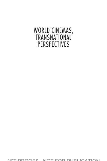 World Cinema setup - Manchevski