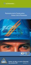 Partenaire de la Construction Acteur de la Prévention - KP1
