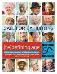 Call for Exhibitors Brochure - Iowa Association of Homes & Services ...