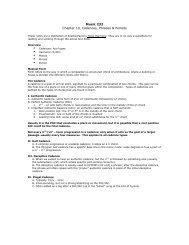 Music 232 Chapter 10, Cadences, Phrases & Periods - Jkornfeld.net