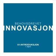 BEHOVSDREVET - Innomed