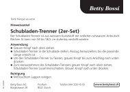 Schubladen-Trenner (2er-Set) - Betty Bossi