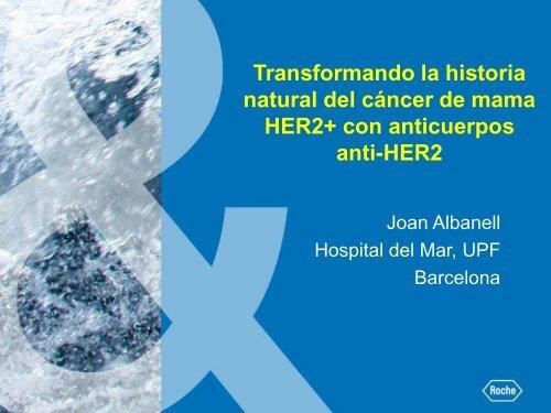 Transformando la historia natural del cáncer de mama HER2+ con ...