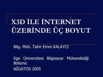Yüksek Lisans Tez Sunumu - Ege Üniversitesi
