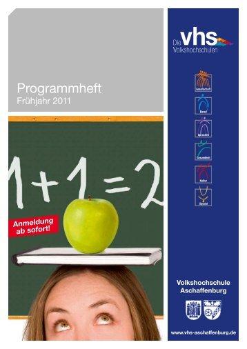 Fremdsprachen - Volkshochschule Aschaffenburg