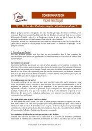 N° 50 : les sites d'achats groupés - Familles de France