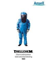 Chemicaliënpakken Gebruikershandleiding NEO - Ansell Protective ...