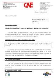 Roma, 17 febbraio 2011 Prot. n.: 99/11/AR/CP Ai ... - uil varese