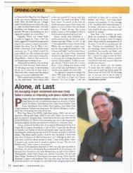 Alone, at Last - David R. Adler