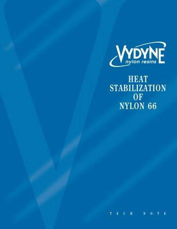 Heat Stabilization of Nylon 66
