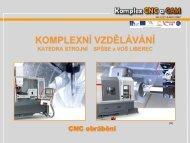 Třískové hospodářství u CNC obrábění (využití výkovků, odlitků) (ŽP)