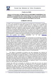 Conseil des Notariats de l'Union Européenne - CNUE