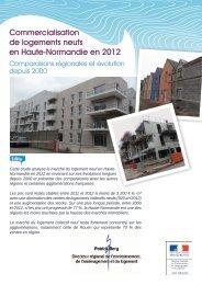 commercialisation de logements neufs en 2012 - DREAL Haute ...