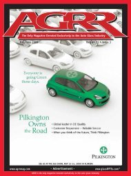 May/June 2009 - AGRR Magazine