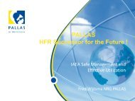 PALLAS - Nuclear Sciences and Applications - IAEA