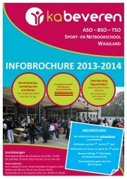 Brochure 2013-2014.pdf - Koninklijk Atheneum Beveren-Waas