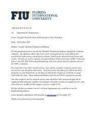 Faculty Scholarly Productivity Database