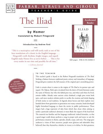 the iliad essay introduction Achilles essay achilles essay the achilles in the illiad is not a hero in the introduction of the essential illiad given by the iliad: understanding.